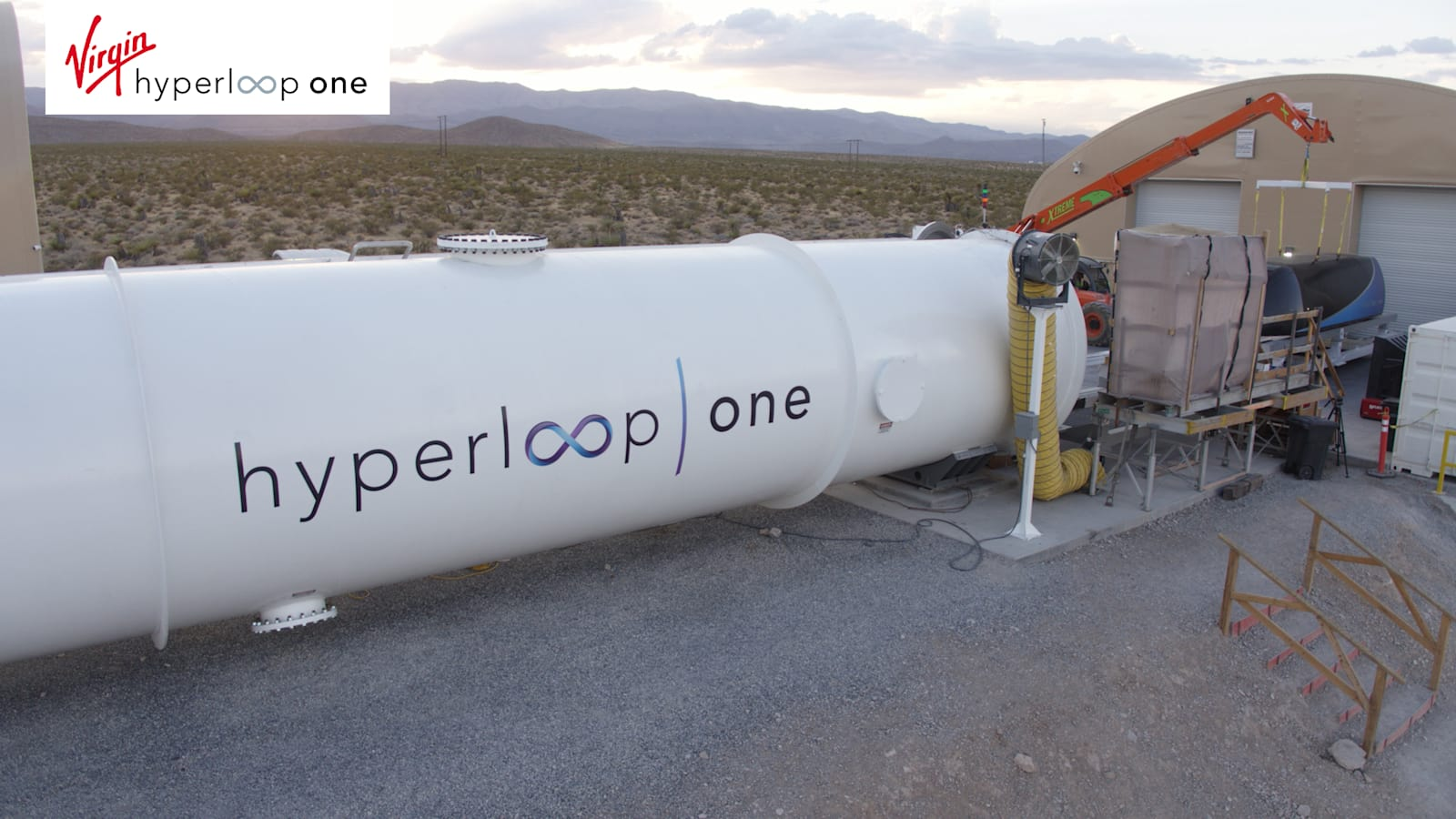 Virgin y Hyperloop One